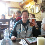 A pint at The George Inn, Lacock