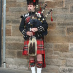 Bagpiper on the Royal Mile