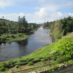 Ballynahinch River - view from my room
