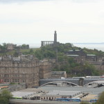 Balmoral Hotel & Carlton Hill from Castle