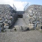 Carrowmore - entrance of Listoghil