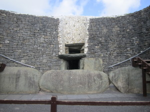 Newgrange - Entrance Stone