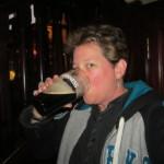 O'Neill's Bar with a pint