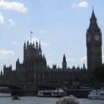 Parliment & Big Ben from Thames