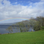 Rainbow over Loch Ness