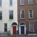 Red & Blue Front doors
