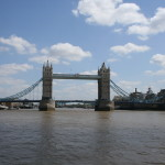 Tower Bridge from Thames 2