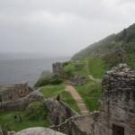 Urquhart Castle ruins & Loch Ness