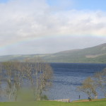 rainbow over Loch Ness 2