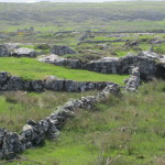 stone walls in Co. Galway